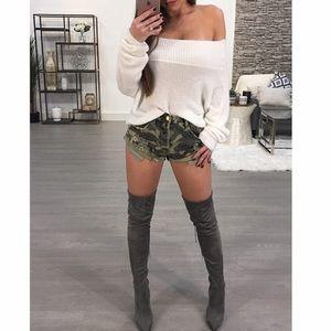 Vibrant Camo shorts